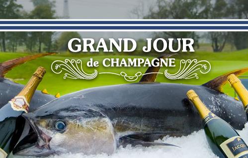Největší festival šampaňského  – Grand Jour de Champagne 2014