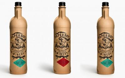Papírové lahve na víno –  pro trampy a ekofanatiky