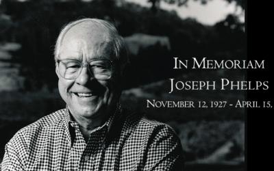 Ve věku 87 let zemřel průkopník kalifornského vinařství Joseph Phelps