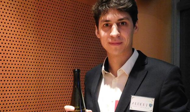 Ze stavaře vinařem: Rodiče si mysleli, že ze mě bude stavební inženýr a já jsem si to částečně myslel do prvního semestru studia VUT, říká mladý vinař Albert Vyoral