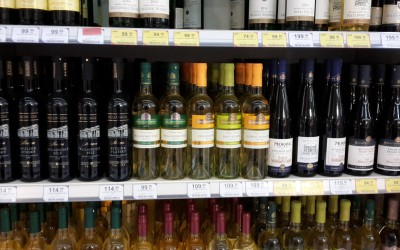 Test Ryzlink rýnský v supermarketech